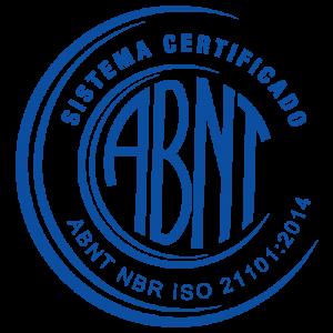 SELO ISO 21101-2014 - ATIVIDADE CERTIFICADA - ABNT - HOTEL FAZENDA - CERTIFICADO - PREMIO