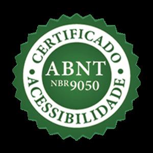 Certificado - ABNT NBR 9050 - Acessibilidade