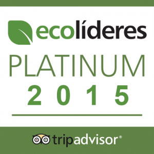 Prêmio - EcoLíderes Platinum 2015 TripAdvisor