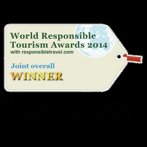 Prêmio - WTM14 - O melhor hotel do mundo em turismo responsável em 2014