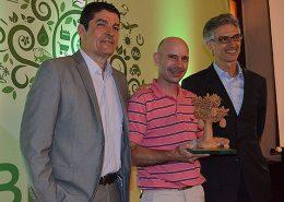Prêmio braztoa de sustentabilidade recebido pelos hoteis fazenda campo e parque dos sonhos