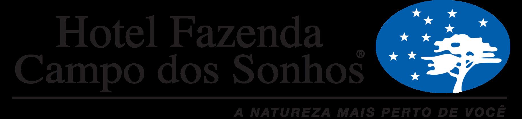 Logo do hotel fazenda campo dos sonhos