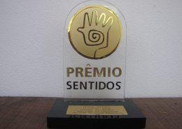 Prêmio sentidos na categoria menção honrosa empresa 2009